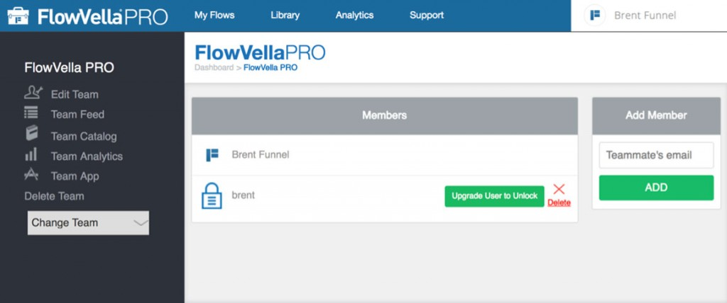 FlowVella PRO - New Member Added